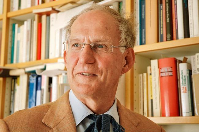 Portrait des Philosophen Otfried Höffe
