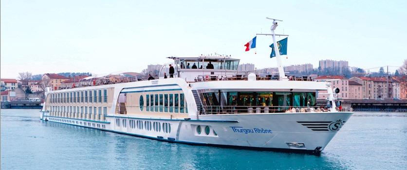Flusskreuzfahrtschiff «Thurgau Rhône»