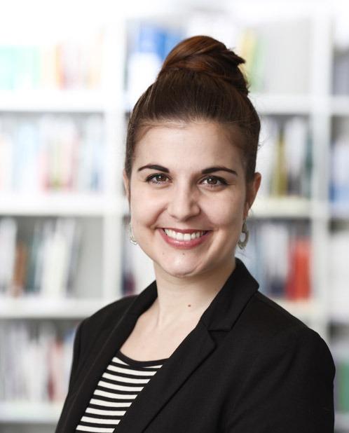 Portrait von Christine Künzli, MLaw und stv. Geschäftsleiterin und Rechtsanwältin bei der Stiftung Tier im Recht.