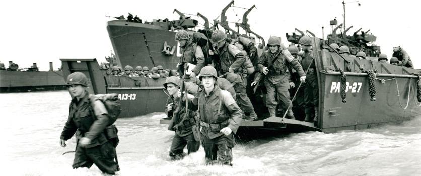 D-Day: Alliierte Landungen in der Normandie