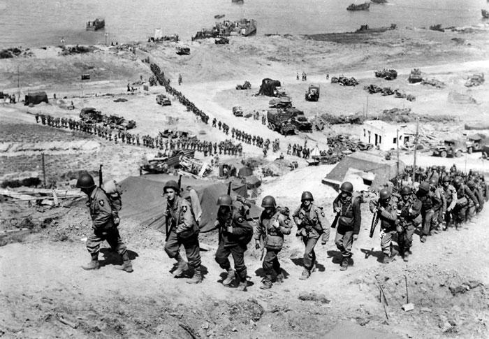 D-Day: Amerikanische Truppenverstärkung nahe «Omaha Beach»
