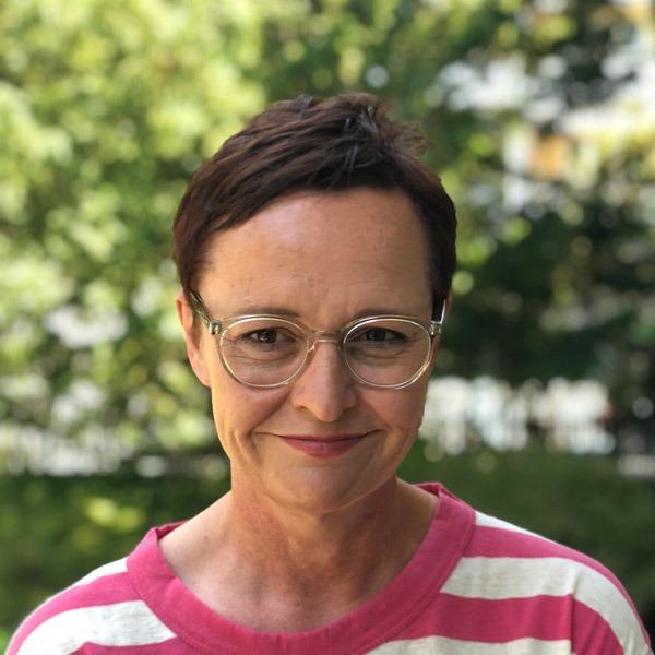 Nadia Lattmann, AD der Zeitlupe, verantwortlich für das Layout der Printausgabe.