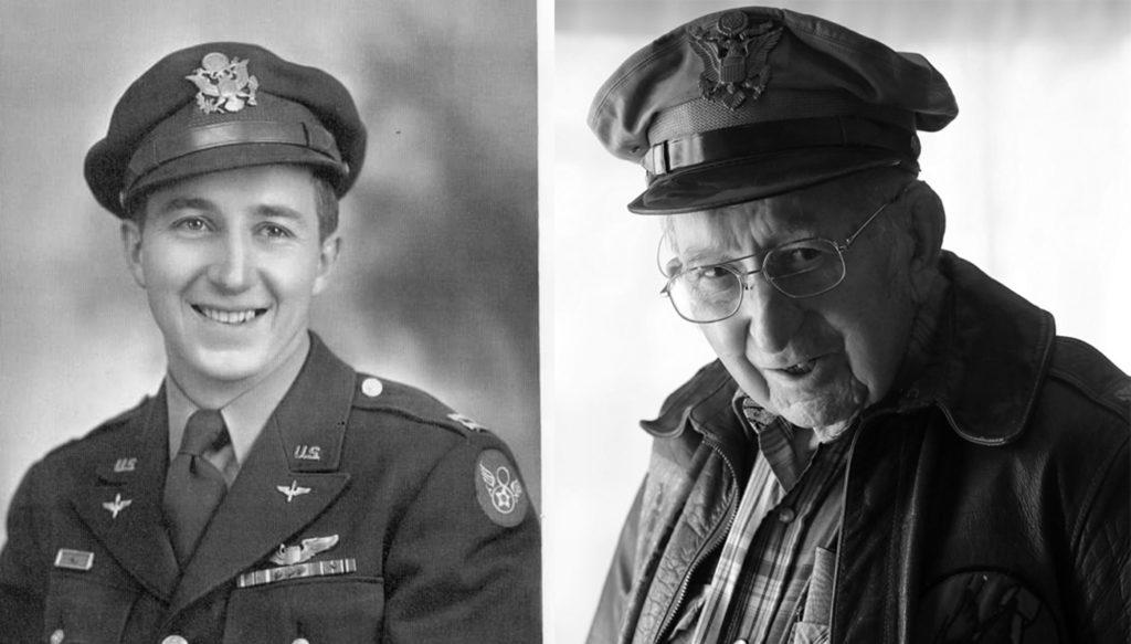 George Insley war als Bomberpilot am Angriff von Schaffhausen beteiligt.