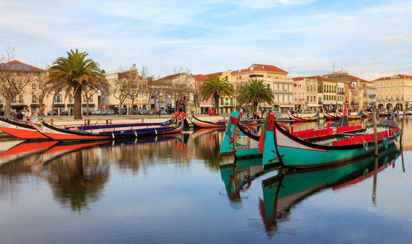"""Aveiro, das """"Venedig Portugals"""""""