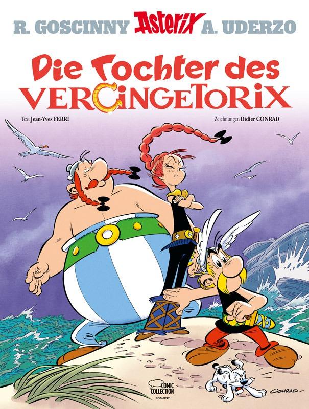 Cover: Die Tochter des Vercingetorix
