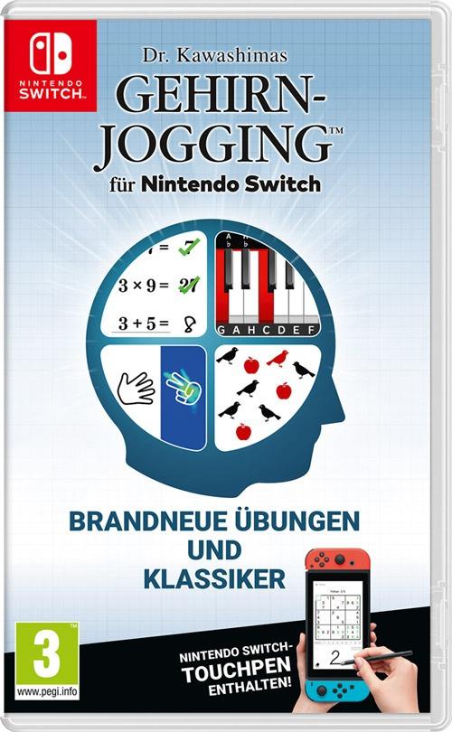Cover des Computerspiels Kawashimas Gehirnjogging