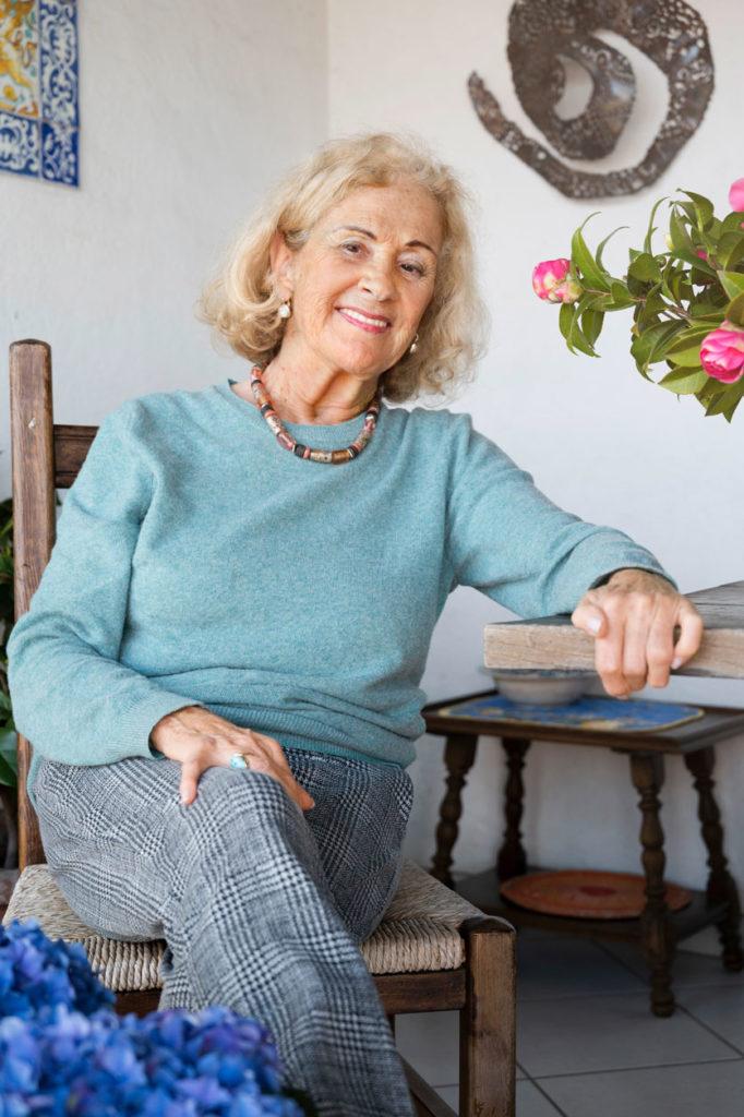 Portrait von Eveline Hasler im Tessin