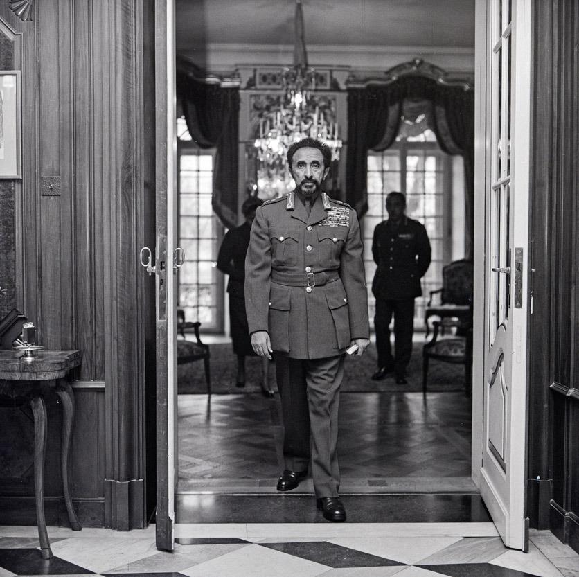 Schloss Jegenstorf: Kaiser Selassie verlässt den Salon