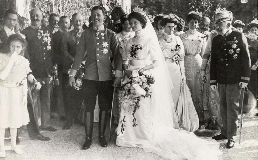 Hochzeit von Karl und Zita in Schwarzau