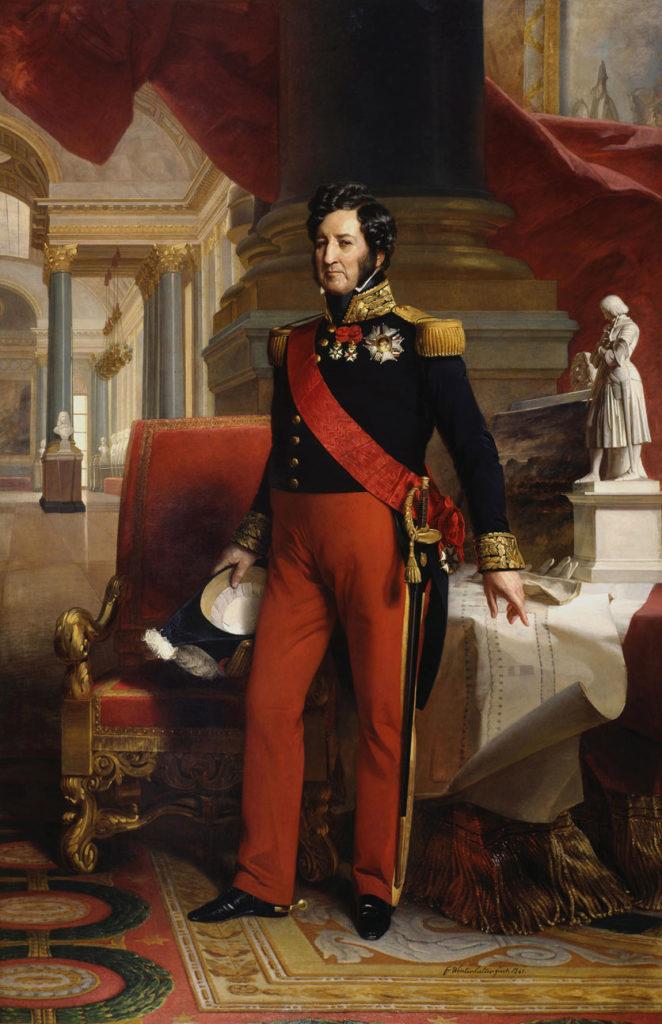 Louis Philippe I, Gemälde von Franz Xaver Winterhalter