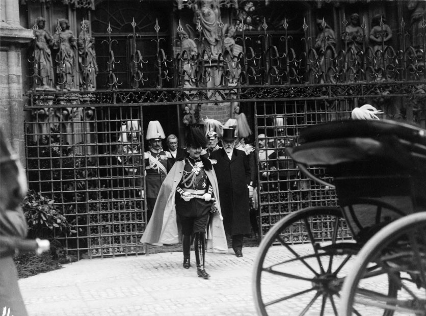 Kaiser Wilhelm II in Bern