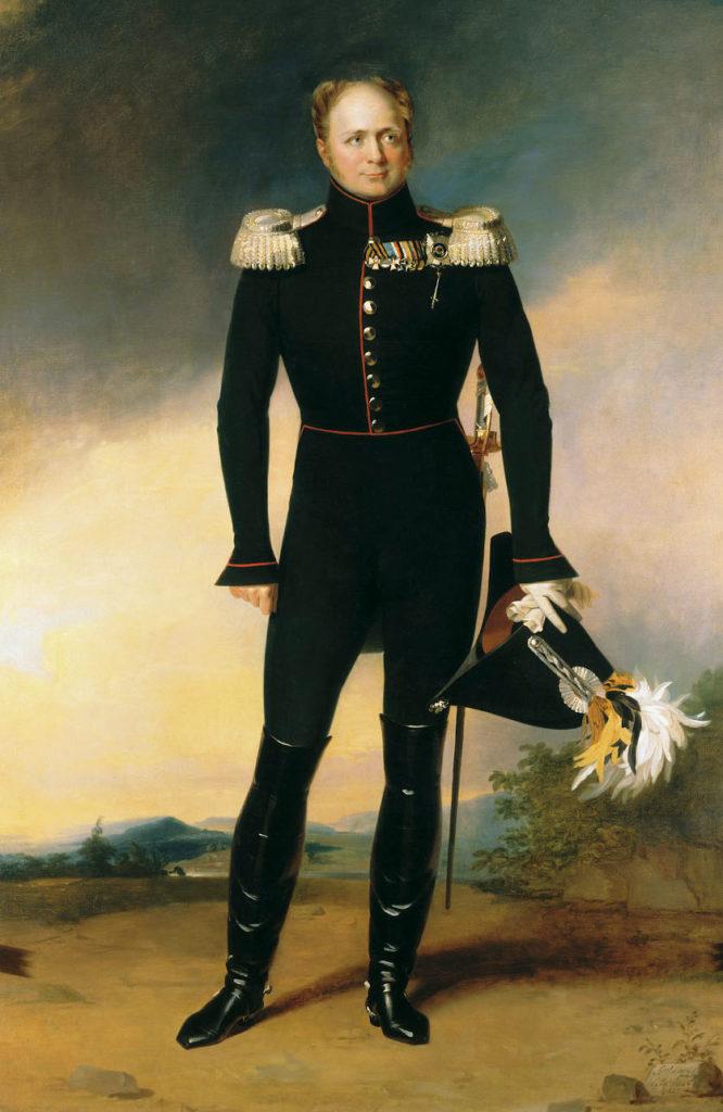 Zar Alexander I., Gemälde von G. Daw