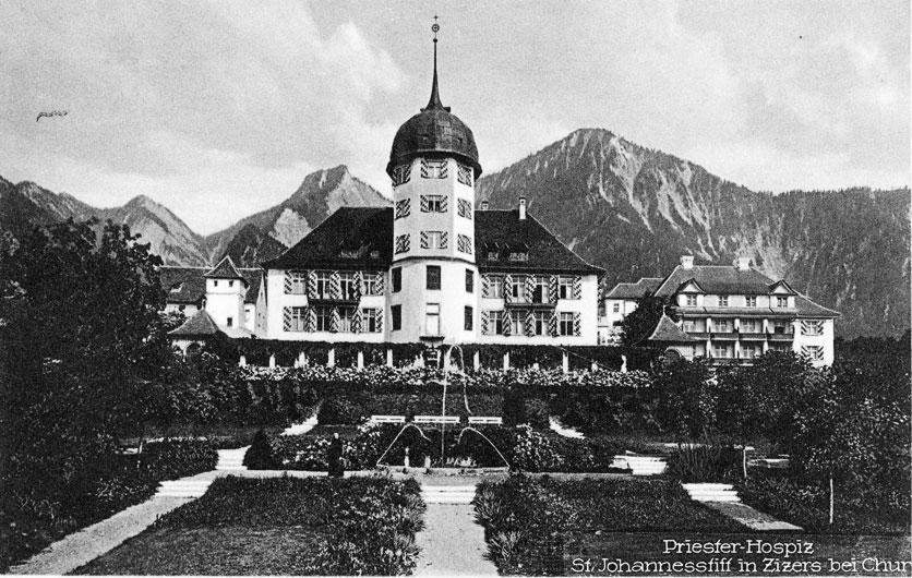 Das St. Johannes-Stift im bündnerischen Zizers: Hier setzte sich Ex-Kaiserin Zita zur Ruhe.