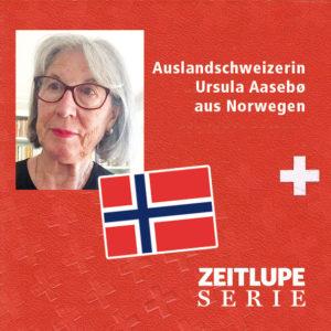 Ursula Aasebø aus St. Gallen lebt seit 50 Jahren in Oslo.