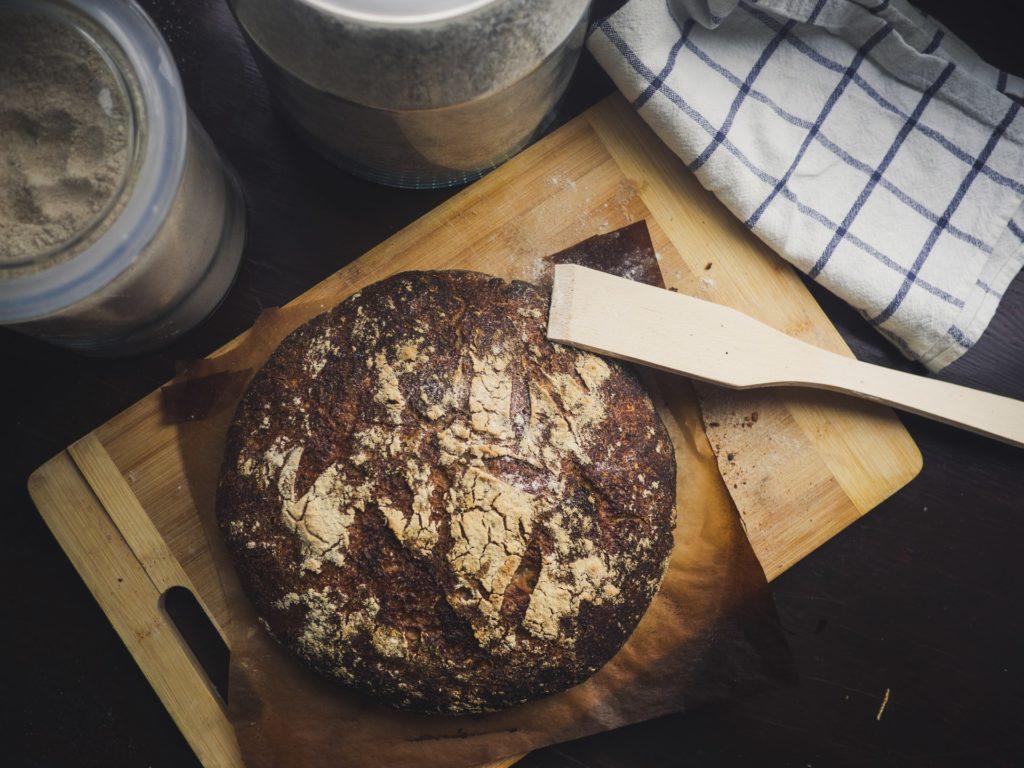 Perfekte Brotkruste