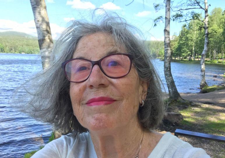 Portrait von Auslandsschweizerin Ursula Aasebø in Norwegen