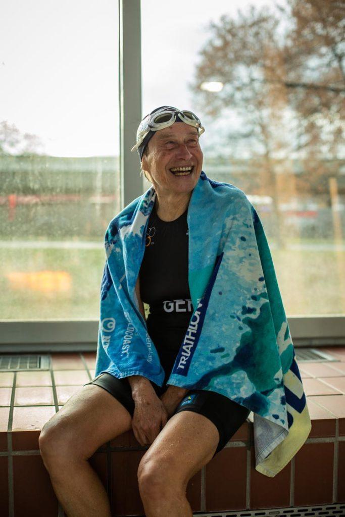 Schwimmerin Inge Stettner