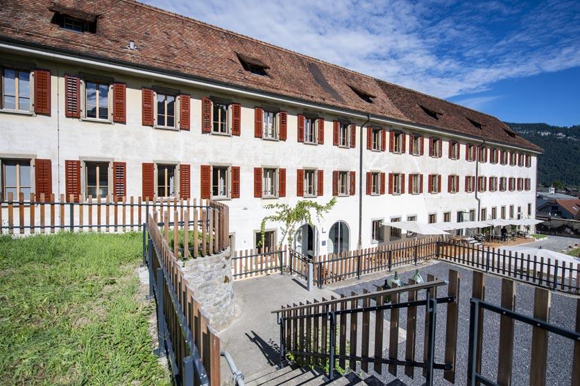 Culinarium Alpinum im ehemaligen Klostergebäude in Stans.