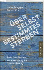 Buchcover: Ueber selbstbestimmtes Sterben.