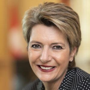 Bundesraetin Karin Keller-Sutter