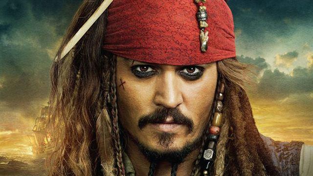 Johnny Depp als Capain Jack Sparrow