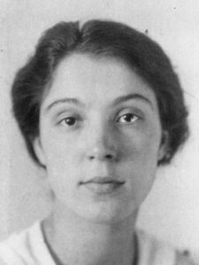 Portrait der Schriftstellerin Aline Valangin