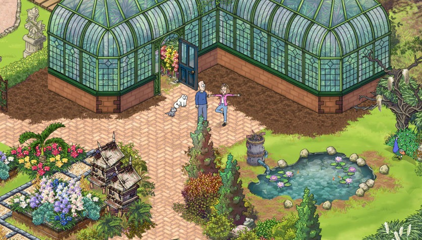 Screenshot aus dem Spiel «Simon's Cat: Story Time»