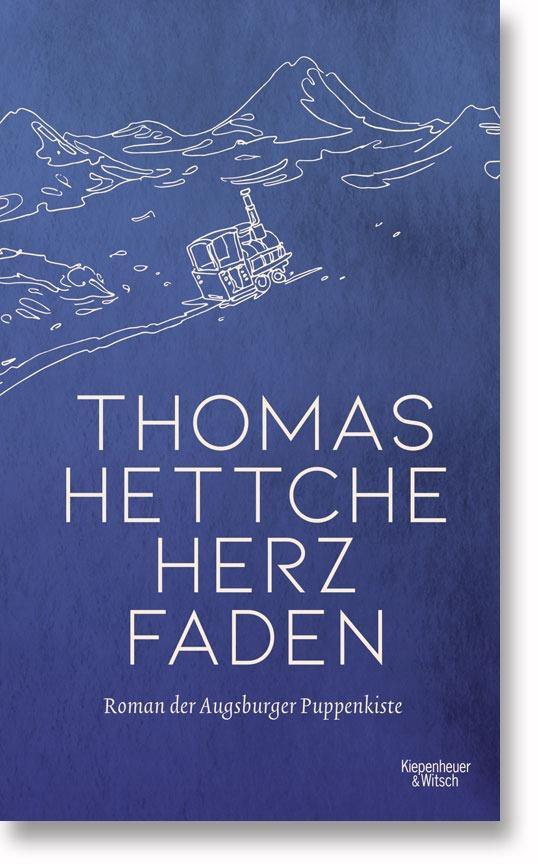 "Buchcover: Thomas Hettche ""Herzfaden"""