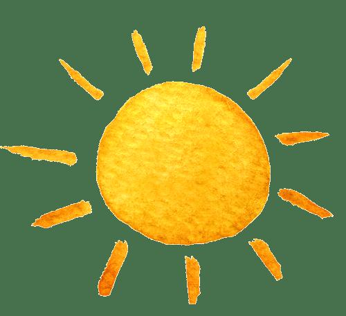 Illustration einer Sonne
