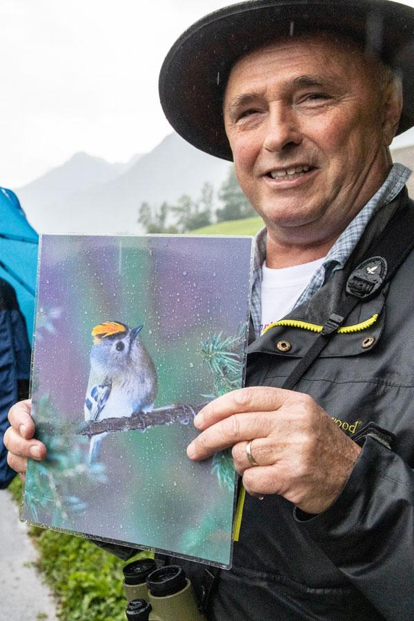 Vogelexperte Roland Meier (Glarner Natur- und Vogelschutzverein)